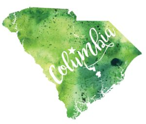 Columbia South Carolina illustration